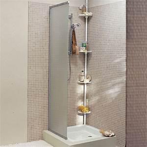 Etagere Dans La Douche : etagere d angle pour douche topiwall ~ Edinachiropracticcenter.com Idées de Décoration