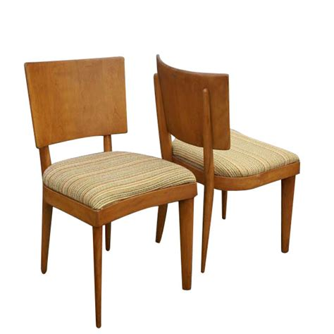 Heywood Wakefield Dining Chairs by 5 Vintage Heywood Wakefield Stingray Dining Side Chairs
