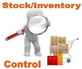 Inventory Stock Control