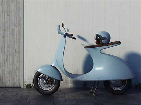 Vespa Image by Italian Designer Reinvents The Classic Vespa For The