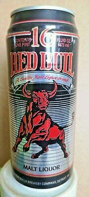 1990s RED BULL aluminium can bier beer cerveza 473ml ...