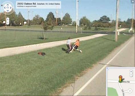 crimes caught  google street view  pics