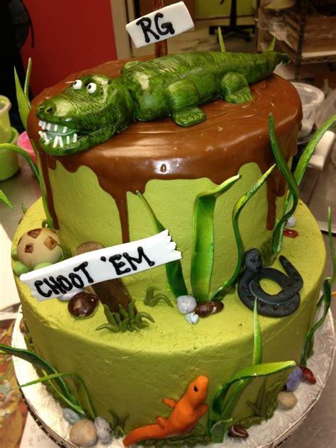 southern blue celebrations alligator cake ideas