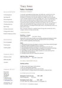 sales assistant cv template purchase