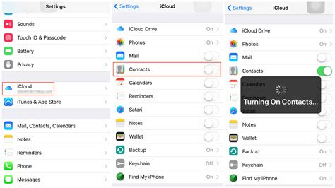 backup iphone contacts tutorial how to backup iphone 6s contacts to icloud