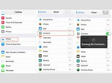 2 Ways to Sync Contacts from iPhone to iPad – iMobie Inc