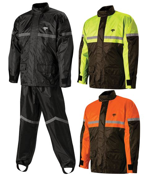 motorcycle rain gear nelson rigg sr 6000 stormrider motorcycle rain suit