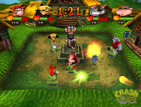 crash bash screenshots crash mania