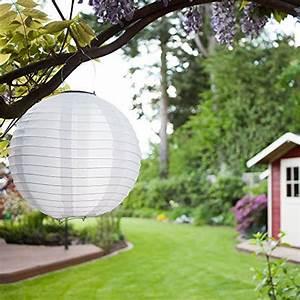 Lampions Mit Led : 5er set solar lampions xl laterne led garten beleuchtung ~ Watch28wear.com Haus und Dekorationen
