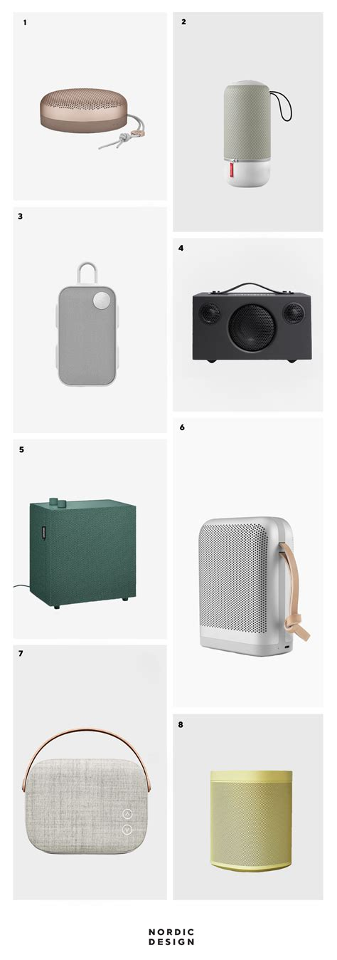 In Scandinavia For Speakers by 8 Stylish And Compact Wireless Speakers With A Nordic Look
