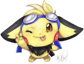 Cute Pichu Pokemon