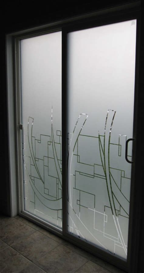 toronto graphic cut decorative window