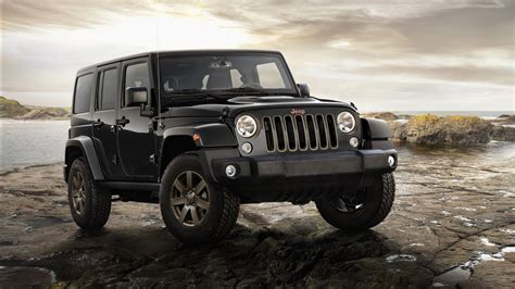 2016 Jeep Wrangler 75th Anniversary Model Wallpapers