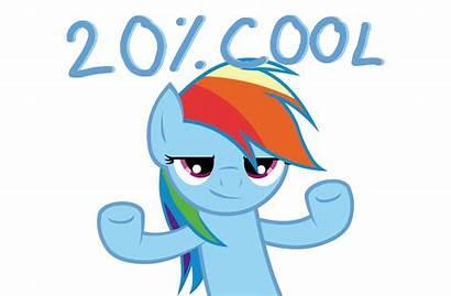 Pony Friendship Magic Ponies Reactions Dash Rainbow
