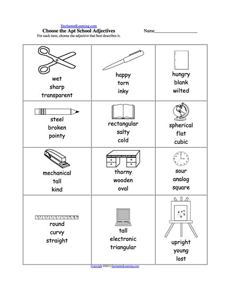 adjectives worksheets for high school comparative and superlative adjectives worksheet high
