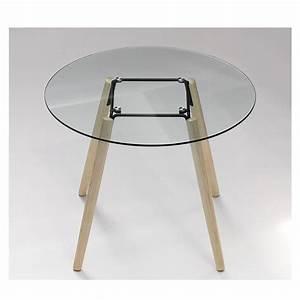Tisch Rund Glas : tisch rund glas tischplatte esstisch rund glas tisch tischplatte glas durchmesser 100 cm ~ Frokenaadalensverden.com Haus und Dekorationen