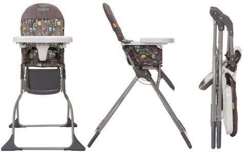 walmart cosco folding high chair 24 88 reg 35 cosco simply fold high chair free store