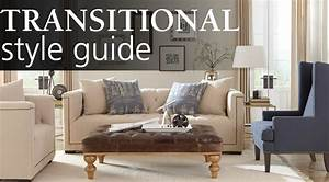 Interior Design Style Guide: Transitional Homemakers