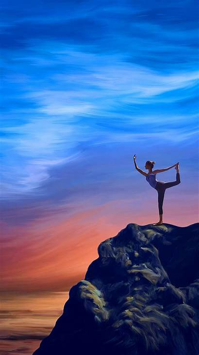 Yoga Mobile Wallpapers Phone Background Iphone Artwork