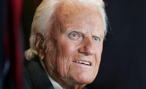christian evangelist billy graham  reached billions