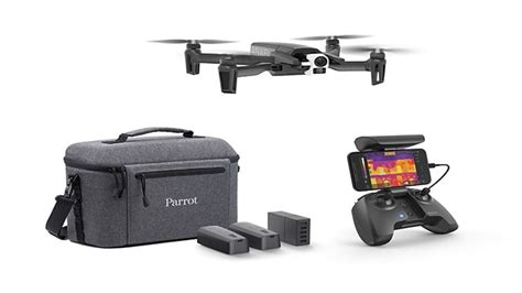parrot unveils thermal imaging drone anafi thermal uasweeklycom