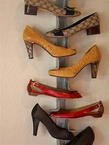 Rangement Chaussures Original : designs de porte chaussures mural ~ Teatrodelosmanantiales.com Idées de Décoration