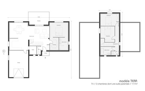 projet de construction la maisons une maison contemporaine et in 233 dite plans et