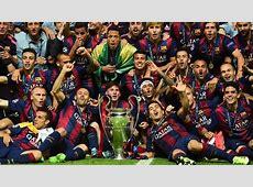 Ehrenabzeichen für Barcelona UEFA Champions League
