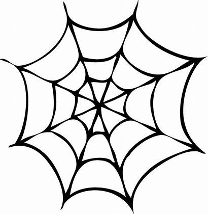 Spider Halloween Clipart Silhouettes Clip Graphics Spiders