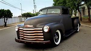 Pick Up Chevrolet 1950 : 1950 chevrolet rat rod pickup with a 350ci small block youtube ~ Medecine-chirurgie-esthetiques.com Avis de Voitures