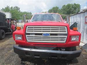 1987 Ford F700 Single Axle Flatbed Used For Sale