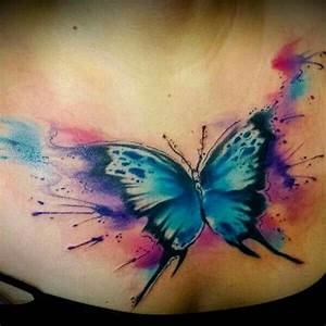 25+ Best Ideas about Watercolor Butterfly Tattoo on ...