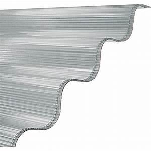 Plaque Ondulée Pour Toiture : plaque ondul polycarbonate translucide l x l 2 m ~ Premium-room.com Idées de Décoration