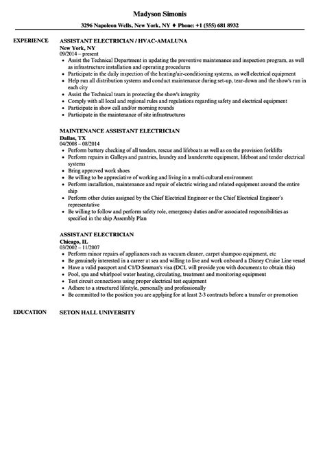 20158 electrician resume exles funky maintenance electrician resume objective images