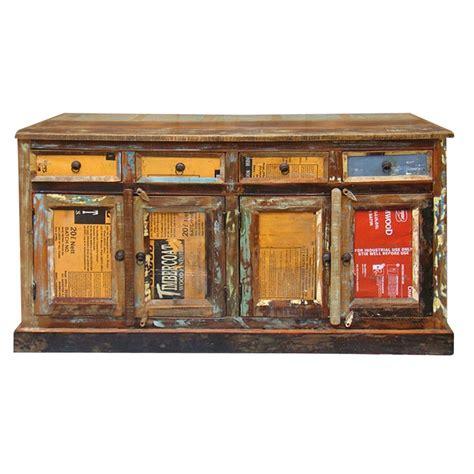 credenze vintage credenza vintage legno etnico outlet mobili etnici