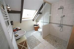 Faire Une Douche Italienne : douche italienne sous comble meilleures images d ~ Dailycaller-alerts.com Idées de Décoration