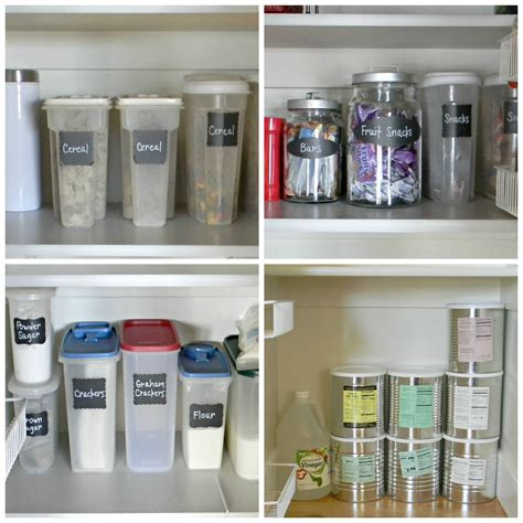 pantry containers organize  decorate