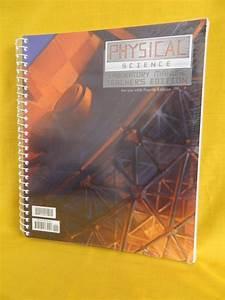 Bob Jones Physical Science Lab Manual Key  4th Ed Bju