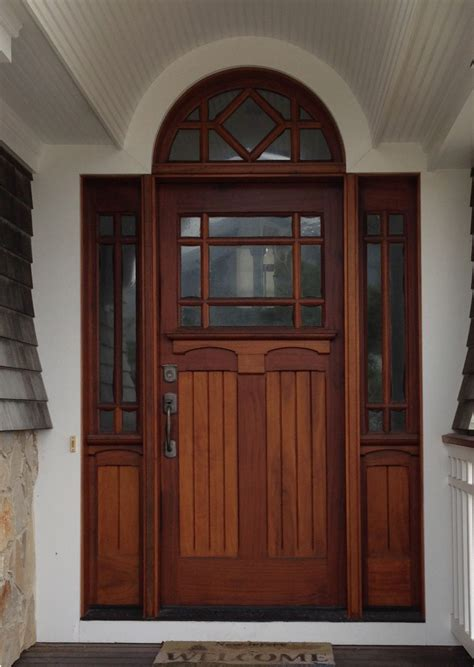 Custom Exterior Doors by Phirst And Lassing Unique Third Lite Exterior Wood And