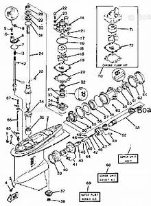 Yamaha Outboard Parts By Hp 150hp Oem Parts Diagram For Lower
