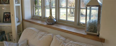 Contemporary Window Sill by Crafted Bespoke Shelves Window Sills Window Seats