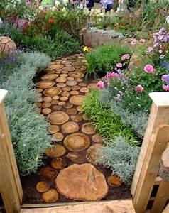 Rondin De Bois Pour Jardin : 15 cr ations diy pour le jardin partir de rondins de bois ~ Edinachiropracticcenter.com Idées de Décoration