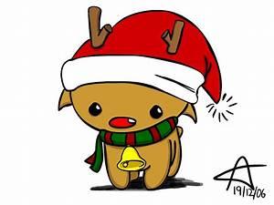 Christmas reindeer by GNAHZ on DeviantArt