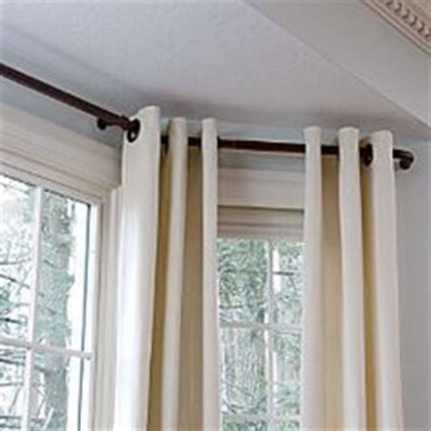 Bendable Curtain Rod For Bay Window by Bay Window Ideas Tips On Bay Windows Bay