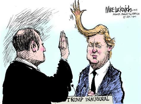 Trump Inauguration Memes - donald trump inaugural cartoon