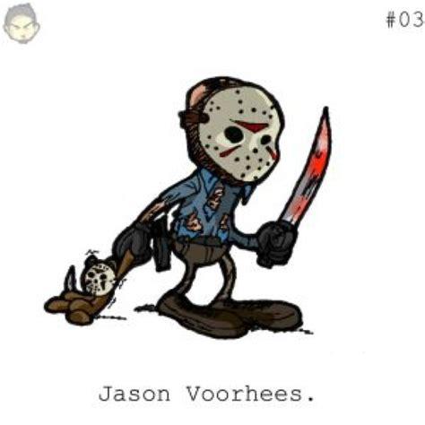 Cultchara Jason By Theeyzmaster On Deviantart Jason Horror