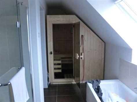 Kleine Sauna Fürs Badezimmer by Foto Impressionen Bad Saunen Unserer Kunden