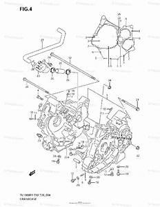 Suzuki Motorcycle 2001 Oem Parts Diagram For Crankcase