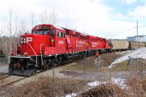 Moving Freight Train Cars