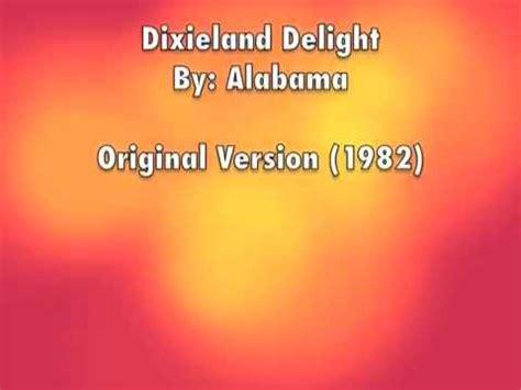 alabama dixieland delight lyrics  description chords